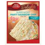 American Rainbow Chip Cake Mix (Betty Crocker Super Moist)